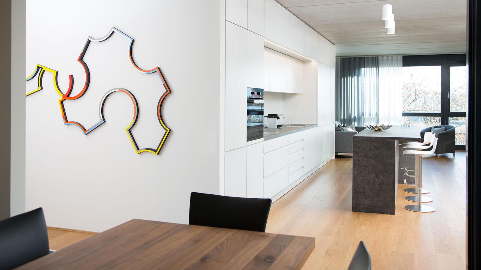 Wohnraum Gestaltung mit Sichtbeton